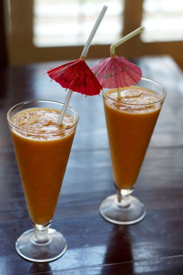 Sweet Potato Smoothies: Sound sketch but are a refreshing treat.